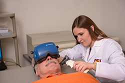 The ASU Department of Speech and Hearing Science Hearing Clinic offers Vestibular Assessment